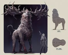 Great beast Dunva, Adam Lee on ArtStation at https://www.artstation.com/artwork/0Lzdy