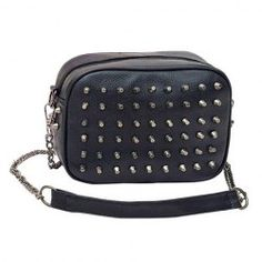 $11.49 Retro Style Women's Shoulder Bag With Rivets and PU Leather Design