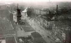 Rotterdam, Coolsingel 1919 vanaf stadhuistoren | by janwillemsen Rotterdam, Modern City, Old City, Paris Skyline, Holland, Britain, Dutch, Scenery, World