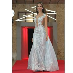 Srta Atlántico  Evening Gown. @mariacamilasoleibe #reinadocolombia #srtacolombia #trajedegala #srtaatlantico by misscolombiaunlimited