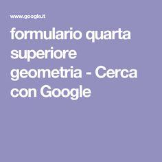 formulario quarta superiore geometria - Cerca con Google