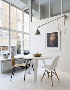 I want those windows! Photo: Johan Karlsson Via Sköna Hem from MRS JONES: WHITE AGAIN