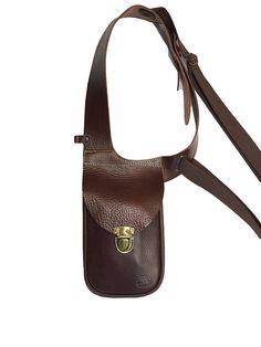 Leather holster bag DELUXE Leather shoulder holster bag