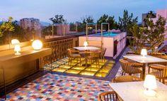 Charmoso hotel boutique no coração de Santiago