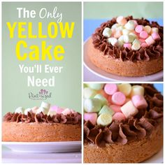 only yellow cake recipe you need