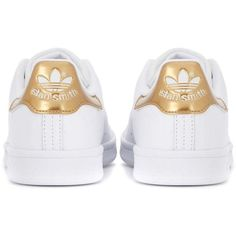 Adidas Originals Stan Smith leather sneakers ($100) ❤ liked on Polyvore featuring shoes and sneakers