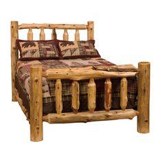 Fireside Lodge Furniture Cedar Traditional Cedar California King Platform Bed 10010-Ck