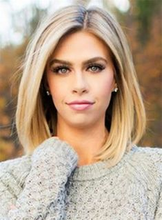 Mid-length Straight Blonde Full Lace Human Hair Wig 12 Inches - - Source by Hair Wigs Shoulder Length Straight Hair, Shoulder Hair Styles, Sholder Length Hair Styles, Shoulder Bob, Shoulder Length Cuts, Medium Hair Styles, Curly Hair Styles, Long Bob Haircuts, Medium Straight Hairstyles