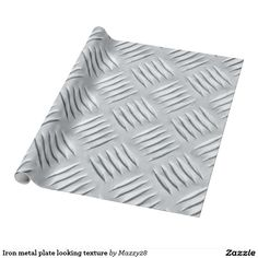 Iron metal plate looking texture wrapping paper