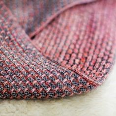 Ravelry: brick road cowl by Antonia Shankland from M A D E L I N E T O S H. Tosh Merino Light in smokestack and afternoon