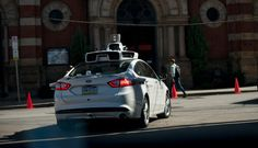 As Self-Driving Cars Near Washington Plays Catch-Up