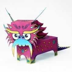 paper dragon craft - Google Search