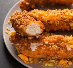 Mozzarella-Stuffed Cheetos Chicken Fingers Are Dangerously Cheesy