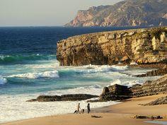 Guincho beach, Cascais Portugal