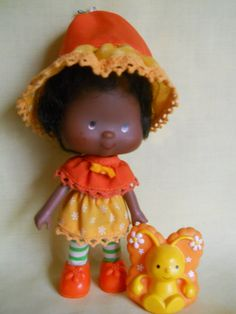 Orange Blossom and Marmalade Strawberry Shortcake Doll, Strawberry Fields, I Remember When, Marmalade, Orange Blossom, Art Journal Inspiration, My Memory, Antique Toys, Custom Dolls