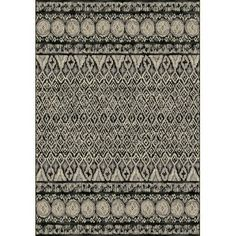 Dynamic Rugs Eclipse Grey Area Rug