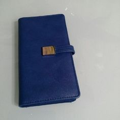 Blue Wallet Its brand new never used. Bags Wallets