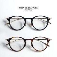 OLIVER PEOPLES オリバーピープルズ ALDERSON ボストン コンビチタンフレーム メガネ 伊達 度付き