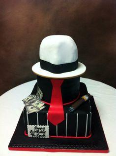 Gangster Birthday cake.