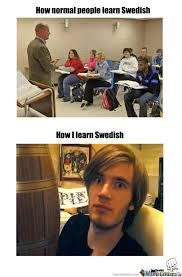 "How I learn Swedish. Scrolled across this whilst searching ""learning Swedish"". PERFECT TIMING IN MY LIFE. I use his Swedish commentaries to get used to the flow of the language. I actually saying some of this stuff Smosh, Amazingphil, Markiplier, Youtubers, Learn Swedish, Cryaotic, Youtube Gamer, Dan And Phil, Hilarious"