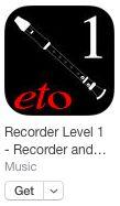 Blockflöte lernen mit App und Begleitband