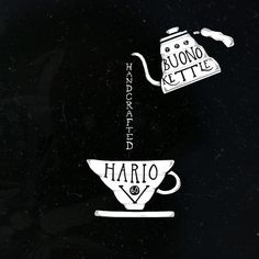 one of our favorite brew pairings. hario v-60 and buono kettle.