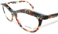 c09b911a7ebd  NEW  Prada Eyeglasses Multicolor with crystals. Get the lowest price on   NEW