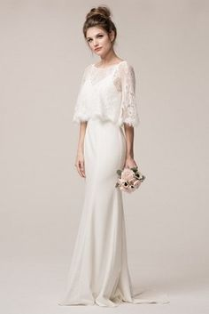 Off White Bridal Gown