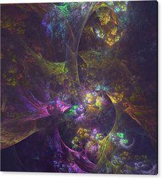 Mariia Kalinichenko Acrylic Print featuring the digital art Inside Another World by Mariia Kalinichenko. Beautiful fractal created in Chaotica program. #MariiaKalinichenko