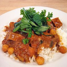 The Sundry -  Today's Lunch Special previews an item from our new dinner menu that starts 5/21! Korma with Central Soyfoods tofu!