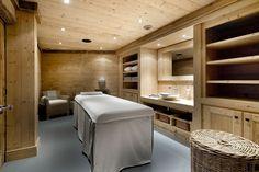 Chalet Le Petit Chateau Courchevel massage room