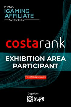 Developer of web solutions for affiliates, Costa Rank, to participate in Prague iGaming Affiliate Conference. The company develops and adjusts websites, focuses on and creates for online resources.