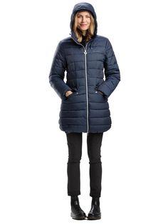 Krásna modrá bunda Pisces Long Jacket s kapucňou je skvelá na neskorú jeseň a zimu. Dokonale vás zahreje. Nájdete ju tu: http://bit.ly/1LfrAgR.