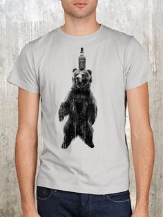 Hey, I found this really awesome Etsy listing at http://www.etsy.com/listing/96620601/jack-daniels-bear-mens-screen-printed-t