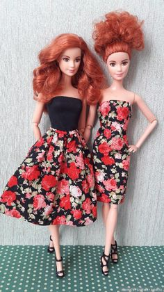 Source by nonthawanpangsr Look dress Sewing Barbie Clothes, Doll Clothes, Outfits With Hats, Girl Outfits, Barbie Tumblr, Barbies Pics, Barbie Gowns, Short Gowns, Barbie Patterns