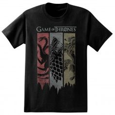 Game of Thrones Sigil Banner T-Shirt