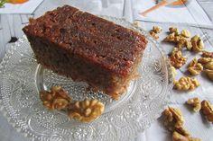 Greckie smaki: Karydopita, czyli ciasto orzechowe