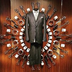 "CANALI 1934,Milan, Italy, ""Tailor-Made to suit individual needs"", pinned by Ton van der Veer"