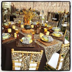 Traditional African Wedding Decor Zulu Ideas Centerpieces Luxurious Animal