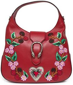 Gucci Red Dionysus Embroidery Cherry wood Blossoms Leather Shoulder Carrier Medium Hobo Handbag Fresh #GucciHandbagsTopHandle #GucciHandbagsBamboo #GucciHandbagsWomen #GucciHandbagsClutch #GucciHandbagsClassic #GucciHandbagsHobo Gucci Handbags, Hobo Handbags, Purses And Handbags, Gucci Crossbody Bag, Gucci Wallet, Gucci Shoulder Bag, Leather Shoulder Bag, Hobo Purses, Hobo Bags