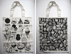 graphic totes