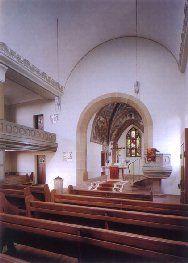 Interior of Church Otisheim St. Michael's Lutheran Church