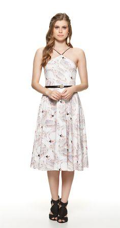 Só na Antix Store você encontra Vestido Cisnes com exclusividade na internet