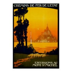 >>>Smart Deals for          Mont St. Michel France ~ Vintage French Travel Poster           Mont St. Michel France ~ Vintage French Travel Poster in each seller & make purchase online for cheap. Choose the best price and best promotion as you thing Secure Checkout you can trust Buy bestReview ...Cleck See More >>> http://www.zazzle.com/mont_st_michel_france_vintage_french_travel_poster-228008648210906518?rf=238627982471231924&zbar=1&tc=terrest