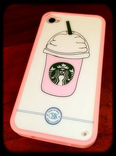 Love #starbucks? Then this #iphonecase is for you! Visit www.casesbykate.com