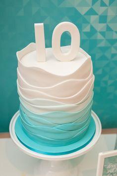 """Make A Splash"" Themed Pool Party {Ideas, Decor, Planning, Cake}"