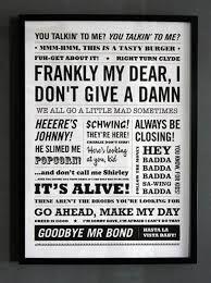 Bildergebnis für movie quotes poster