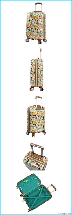Lily Bloom Hardside Luggage 20