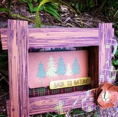 Back to nature shadow box by Jentmomof3