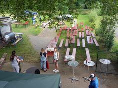9.7.2016 - Sommerfest  Die Vorbereitungen laufen